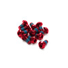 Reverse Disc roodor Bolt Set 12 pieces red